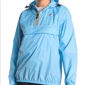 K-Way packable rain jacket size L NEW